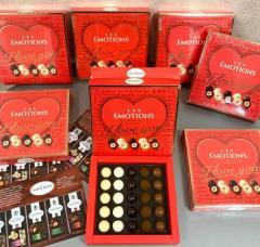 Dragee de ciocolată  I love You