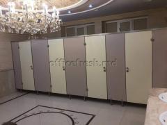 Cabine / partiții sanitare