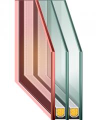 Double-glazed unit GLASS TRIPLEX