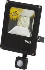 Прожектор LED 30W сенсор движ. GLANZEN