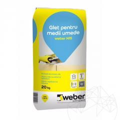 WEBER Выравнивающая штукатурная смесь Weber N15