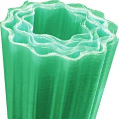 Gutagliss polyester ondulat verde 1.5m