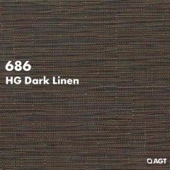 Панель 686 -HG Dark Linen