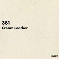 Панель 381 - Cream Leather (Mat)