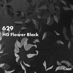 Панель 629 HG Flower Black