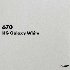 Панель 670 - HG Galaxy White