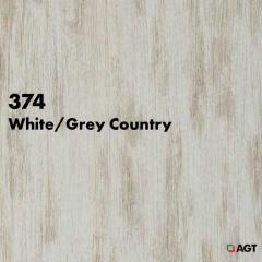 Панель 374 White- Grey Country mat
