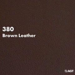 Панель 380 - Brown Leather (Mat)