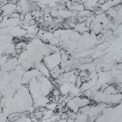 Кухонный фартук L139 Белый мрамор матовый