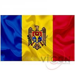 Флаг Р. МОЛДОВА (2 х 1 м)