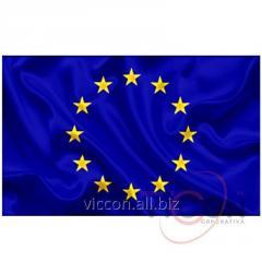 Флаг ЕВРОСОЮЗА (2 х 1 м)