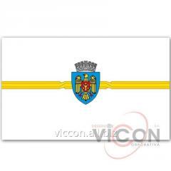 Флаг м. Кишинэу (2 х 1 м)