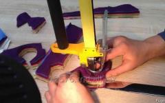 Нож ленточный для резки текстиля и ткани