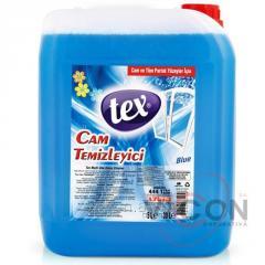 Жидкость для чистки стекол 5 литров TEX