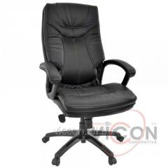 Кресло офисное BX-3671 натуральная кожа