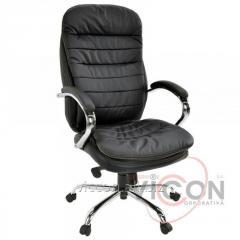 Кресло офисное BX-3679 натуральная кожа