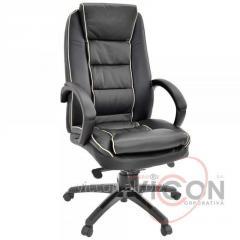 Кресло офисное BX-3796 натуральная кожа