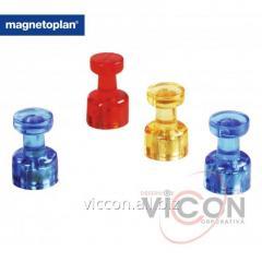 Магниты-гвоздики 4 штуки, Magnetoplan Memo-holder (1666114)
