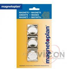 Магниты-клипсы 3 штуки Magnetoplan Magnetclip Set (16670)