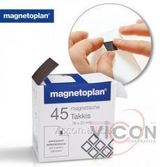 Стикеры-самоклейки магнитные 30x20 Magnetoplan Takkis Set (15503)
