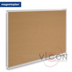 Доска пробковая 180 x 120 см Magnetoplan SP Cork, Алюминиевая рама