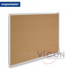 Доска пробковая 150 x 100 см Magnetoplan SP Cork, Алюминиевая рама
