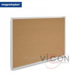 Доска пробковая 120 x 90 см Magnetoplan SP Cork, алюминиевая рама