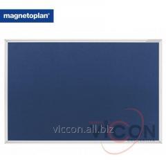 Доска информационная для булавок односторонняя 1500x1000 Magnetoplan SP Felt-Blue (1415003)