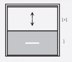 """Фасадная система """"Панорама""""панели 1+1"""