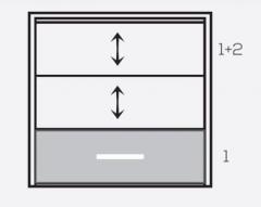 """Фасадная система """"Панорама""""панели 1+2"""