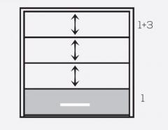 """Фасадная система """"Панорама""""панели 1+3"""