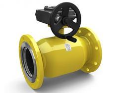 Шаровые краны для газа с механическим редуктором