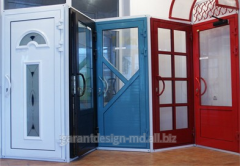 "Usi steclopachet, pvc doors in Moldova from ""GarantDesign"