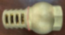 """Клапан обратный 1"""" латунный+сетка латунь"""