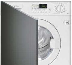 Встраиваемые стиральные и сушильные машины SMEG