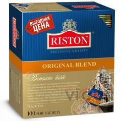 Чай RISTON ORIGINAL BLEND, 100 пакетиков