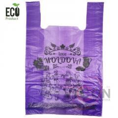 Пакет окси-биоразлагаемый D2W, 39 x 58 см/ 50 шт.