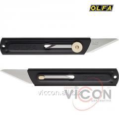 Нож хозяйственный с выдвижным 2-х сторонним