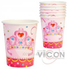 Набор из 6 стаканов бумажных Happy Princess,...