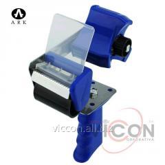 Диспенсер для нанесения липкой ленты 55 мм, синий,
