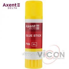 Клей-карандаш PVA Axent Delta D7134, 36 г