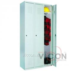 Металлический шкаф 3 дверный, 1800 х 900 х 500 мм