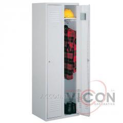Металлический шкаф 2 дверный, 1800 x 600 x 500 мм