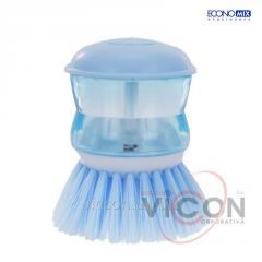 Щетка для мытья посуды с дозатором, ECONOMIX