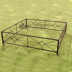 Gardul din metal G2