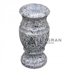 Vază de granit gri L3