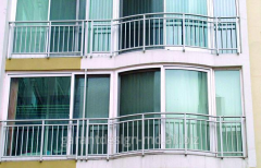 Glazing of balconies and loggias of PVH