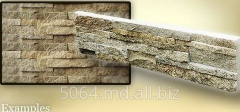 Tile from a natural stone Noodles macaroni