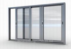 Aluminum balcony frames of Ferestre steclopaket,