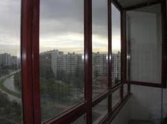 Aluminum balcony frames, Windows aluminum,